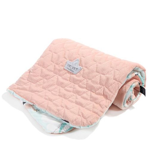 La Millou MISS CLOUDY SLIM BLANKET 80X100 (POWDER PINK)